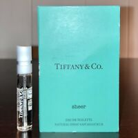 Tiffany & Co. Sheer Eau De Toilette Sample Spray .04oz, 1.2ml