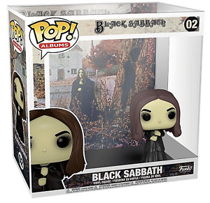 Funko POP! Black Sabbath - Album Figure with Hard Case Pop Protector (Brand New)