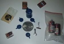 Food/Grocery Miniatures Lot 12 Budweiser/ Ice Cream