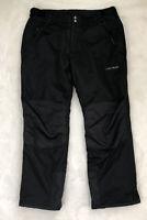 Lucky Bums Adult Snow Ski Pants, Black, X-Large