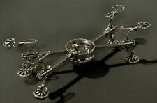 English Sterling Dish Cross  TRAY  STAND   1760              Was $2500