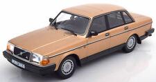 MINICHAMPS 1986 Volvo 240 GL Gold Metallic 1:18*New!