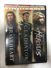Ultimate Warrior Collection: Braveheart/Gladiator/Herc ules: Triple Pack [New Dvd