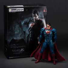 NO 2 SUPERMAN V BATMAN PLAY ARTS KAI DAWN OF JUSTICE COMIC 3D ACTION FIGURE TOY