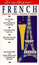 Living Language French-Revised & Updated,1 Manual,1 Dictionary,2 Audiocassettes