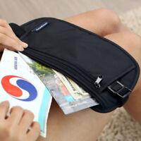 Belt Money Travel Waist Wallet Bag Security Hidden Pouch Passport New Holder
