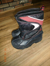 The Children's Place Boys Blue & Red Winter Snow Boots Size 1