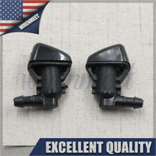 2PCS Super Duty Windshield Washer Jet Nozzles For 08-10 Ford F250 F350 F450 USA