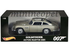 HOT WHEELS CMC95 JAMES BOND 007 GOLDFINGER MOVIE 1963 ASTON MARTIN DB5 1/18
