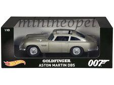 HOT WHEELS CMC95 JAMES BOND 007 GOLDFINGER MOVIE 1963 ASTON MARTIN DB5 1/18