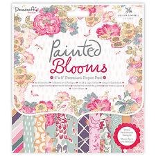 Dovecraft Peint Fleurs 8x8 Support De Papier FSC pour cartes et artisanats