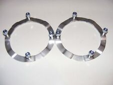 LAND ROVER DEFENDER DISCOVERY 1 PAIR OF FRONT TURRET RINGS WITH NUTS RNJ500010K