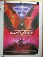 VINTAGE STAR TREK V THE FINAL FRONTIER 1-SHEET MOVIE POSTER 1989