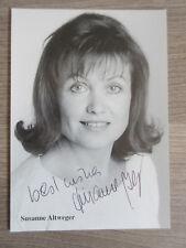 Susanne Altweger original handsignierte Autogrammkarte ! TT2