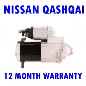 For NISSAN QASHQAI 1.5 DCI 2007 2008 2009 2010 - 2015 STARTER MOTOR