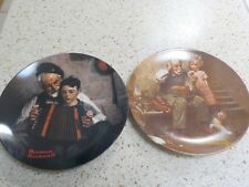 Set of two (2) Knowles Norman Rockwell plates 1978 and 1981