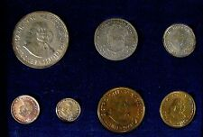 1962 South Africa 7 Piece w/Silver Proof Coin Set    #d ** FREE U.S. SHIPPING **