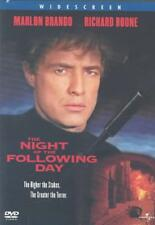 THE NIGHT OF THE FOLLOWING DAY NEW DVD