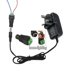 DC 12V 2A Power Supply Adapter Driver Transformer for LED Strip Lights RGB 3528
