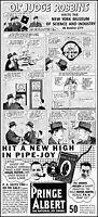 1939 Prince Albert tobacco Ol' Judge Robbins science art vintage print ad ads58