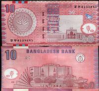 BANGLADESH 10 TAKA 2005 P 39 AUNC