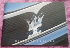 Maserati 3200gt brochure prospectus brochure catalogue livret allemand RAR