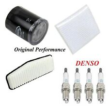Tune Up Kit Air Cabin Oil Filters Spark Plugs For TOYOTA RAV4 L4 2.4L 2004