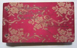 Gros catalogue vintage Yorgall 1960s échantillons passementerie trimmings tissu