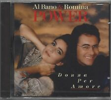 AL BANO & ROMINA POWER / DONNA PER AMORE * NEW CD * NEU *