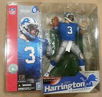McFarlane NFL series 6 JOEY HARRINGTON action figure-Detroit Lions-MIB