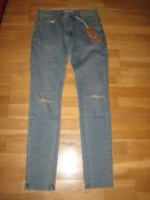next mens skinny leg zip fly jeans size 28 short leg 29 brand new with tags