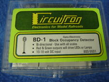 Circuitron 800-5501 All Scale Bd-1 Opto-Electronic Block Occupancy Detector New