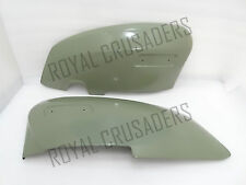 BRAND NEW LAMBRETTA GP150 GP200 LEFT AND RIGHT SIDE PANEL SET (PRIMER PAINTED)