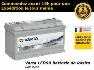 Varta Black Dynamic F6 Batterie Voitures 12 V 90Ah 720 Amps En