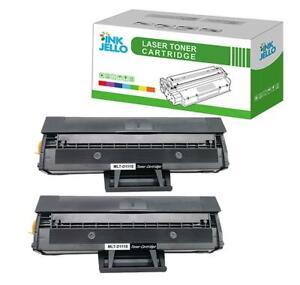 2 Toner Cartridge For Samsung MLT-D111S Xpress SL-M2020 M2020W M2022W M2026