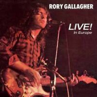 Rory Gallagher - Live! in Europe - New 180g Vinyl LP + MP3