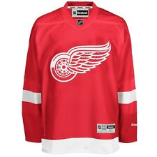 2016-17 Detroit Red Wings REEBOK Premier Team Player Jersey Collection Men's