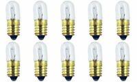 CEC Industries #1487 Bulbs, 14 V, 2.8 W, E10 Base, T-3.25 Shape (Box of 10)