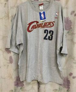 Vintage Reebok NBA Cleveland Cavaliers Lebron James Jersey Shirt XXL Cavs New 2X