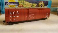 Athearn KCS HO 50' boxcar, RTR, Railbox type, metal wheels, new