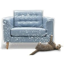 Plastic Furniture Covers Cat Scratch Dog Protector Recliner Chair Waterproof NEW