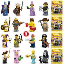 LEGO 71007 MINIFIGURE Series 12 COMPLETE SET of 16 figures with unused code