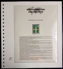 Belgium Belgique 1995 Crossword Puzzle Scrabble Weltsammlung der Rekorde MNH Rar
