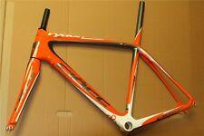 ciöcc rydon UDM carbon Fahrradrahmen orange/grau/weiß *Ausstellungsstück*