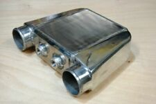 "Air to Water Intercooler A/W IC 3.5"" in/out Liquid Core Aluminum 16.5""x13""x4.5"""
