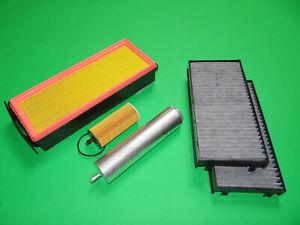 gr. Filterset Filtersatz Inspektionspaket BMW X6 F16 F86, 30d 190kW, 40d 230kW