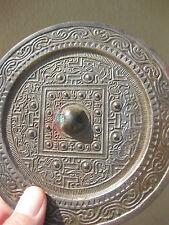 Genuine Cosmic TLV Chinese convex Bronze Mirror Han Dynasty, 206BC-220AD