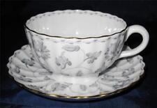 Spode Colonel Gray Y7144 Gold Trim, Cup & Saucer Set