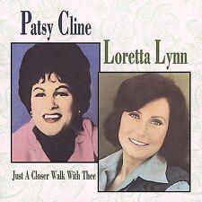Patsy Cline, Loretta Lynn, Just a Closer Walk With Thee CD