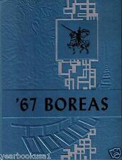 Valley High School Bingham Maine 1967 Boreas HS Yearbook Annual